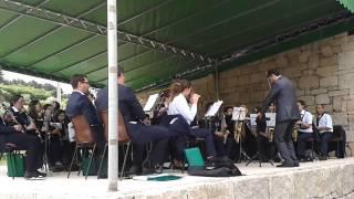 Festa Divino Espírito Santo - Dalvares 2014 (Banda Salzedas)
