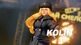 SFV: Kolin Reveal Trailer