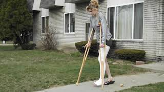 Nikki LLC plaster long leg cast LLC