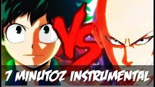 Instrumental - Midoriya VS. Saitama   Duelo De Titãs (7 Minutoz)