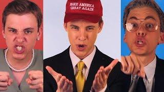 POLITICLASH: Donald Trump vs Hillary Clinton vs Bernie Sanders