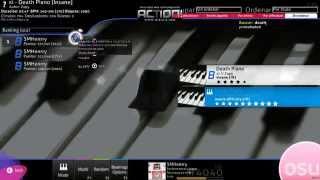 xi - Death Piano [Osu!] [Gameplay] Mis Manos! D:!