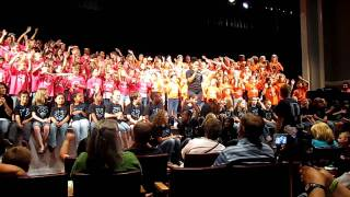 Pitts School Elem & Beverly Hills Elem Choir