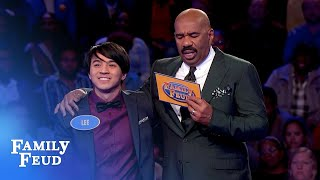 Tina gets three ZEROS. Then THIS happens...   Family Feud