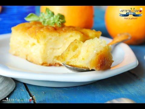 Placinta cu iaurt si portocale