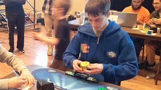 6.89 Rubik's Cube Former North American Record Average! - Lucas Etter