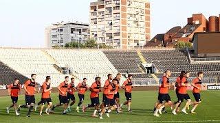 Η προπόνηση πριν την Παρτιζάν! / Training ahead of match against Partizan!