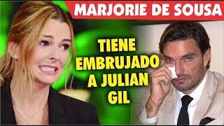 Marjorie de Sousa tiene embrujado a Julian Gil