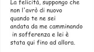 traduzione ''since I don't have you''