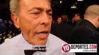 Geno Rodriguez dice adiós al boxeo mundial OMB