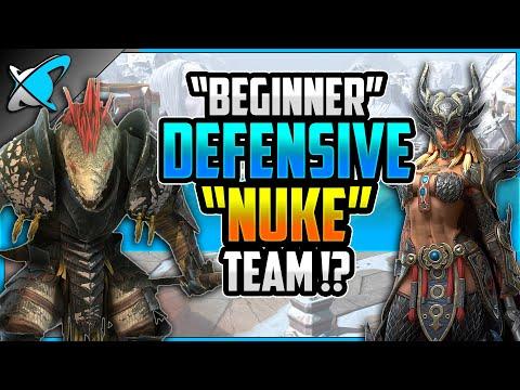 """BEGINNER"" 3rd Tag Arena Team | Defensive Nuke Build !? | RAID: Shadow Legends"