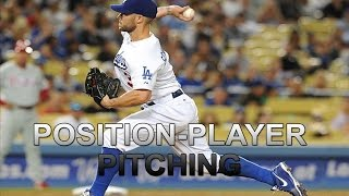 MLB: Position Players Pitching