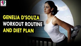 Genelia D'Souza Workout Routine & Diet Plan    Health Sutra - Best Health Tips