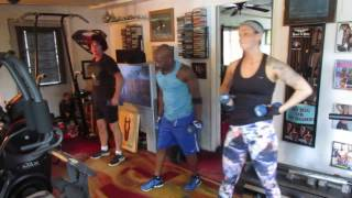 willitary!!bodies hit the floor!!power routine with burpees!