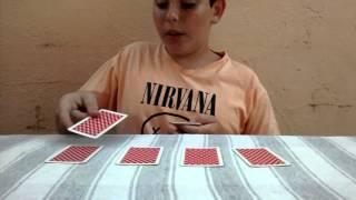 Como fazer a Mágica dos quatro ases