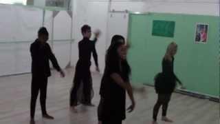 Escola de Dança Adriana Miranda - Ensaio de The Wicked - 2012