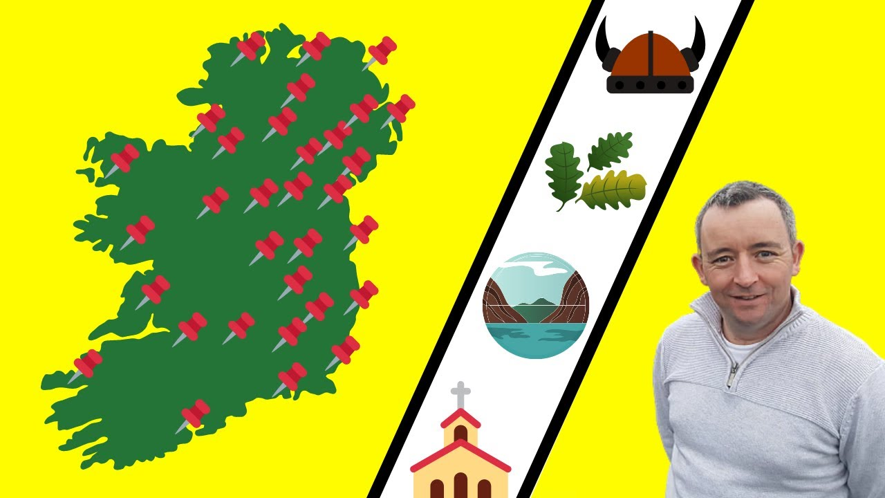 The Names of Ireland's 32 Counties Explained