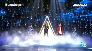 "Pastora Soler: ""La tormenta"" – Semifinal - La Voz 2017"