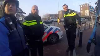 Arrestatie Marokkaan met mes in Rotterdam (3ROBI) - POLITIE SERIE