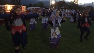 Selah's traditional Turkish folklore dance on Macedonia