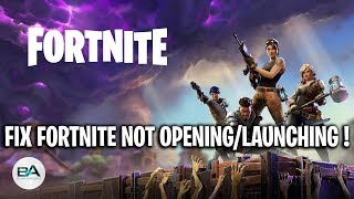 FIX Fortnite not opening with Epic Games [ SEASON 8 ] ! | Epic Games Launcher not opening