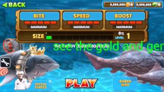 Hungry Shark Evolution Glitch/Hack !!