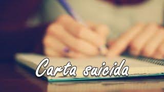 Carta suicida | citação
