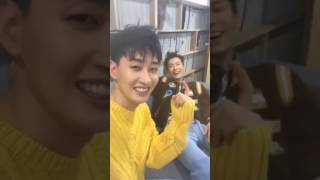170802 [D&E] donghae instagram live with eunhyuk