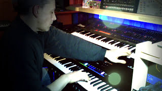 Vangelis Blade Runner Synth demo Fat Sound. Cover.Tribute. Jupiter 80 Main Titles Live