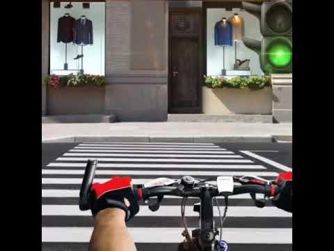 Пересечение пешеходного перехода
