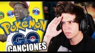 Elrubius canciones-Reaccionando a canciones de pokemon go