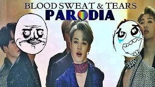 ¡YO ESTOY CON SUGA! | PARODIA: Blood Sweat & Tears (BTS) | YOONMIN IS REAL