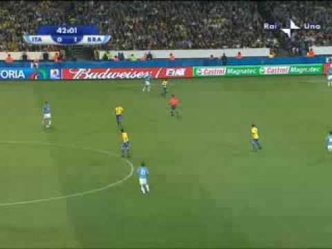 Italia – Brasile 0-3 del 21.06.09 Confederations Cup