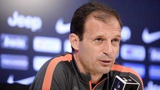 Le parole di Allegri alla vigilia di Inter-Juventus - Allegri's pre-match Inter conference