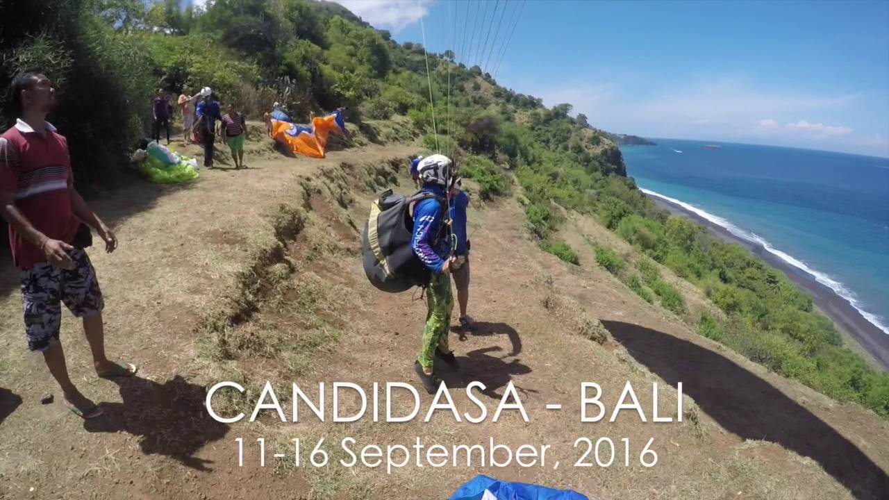 Paragliding Bali - September 2016