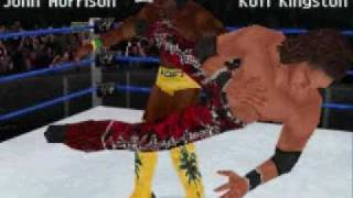 WWE Smackdown vs Raw 2010 Nintendo DS Screenshots