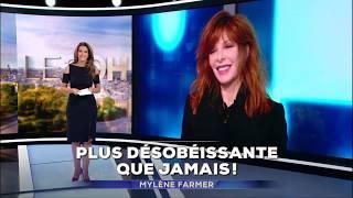 Mylène Farmer - Annonce Interview JT 20H - 30 septembre 2018
