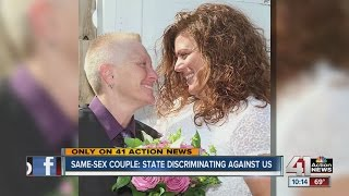 Newlywed denied last name change at KS license office