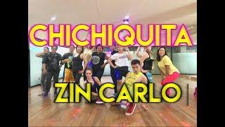 CHICHIQUITA by Jessica Jay feat. Marian Rivera -  Zumba choreo (chachacha) -  ZIN CARLO
