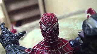 Spider-man vs. Venom (stop motion) Part I