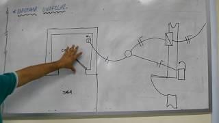 Diagrama Multifilar e Unifilar para Instalacao de Campainha