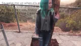 Bea Miller - Wake Me Up Video With Lyrics