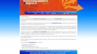 Posicionamiento Web, Posicionamiento en buscadores, publicidad en Internet Chile.