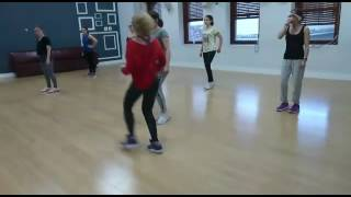 Bailando kizomba en zumba