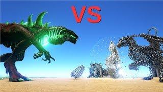 Godzillark vs Overseer (ENDBOSS) || ARK: Survival Evolved || Cantex