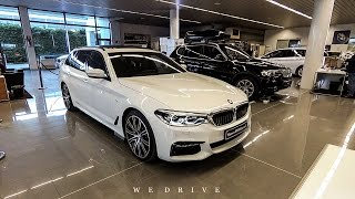 BMW 5 Series Touring 2017 - Quick Tour (ENG SUBS)