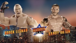 Brock Lesnar vs. Randy Orton at WWE SummerSlam 2016