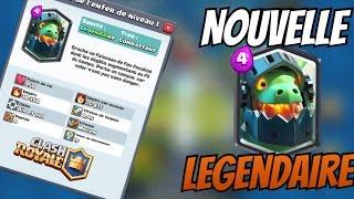 NOUVELLE CARTE | LE DRAGON DE L'ENFER | Clash Royale - Mise A Jour
