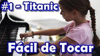 🎵Música para Iniciantes🎵#1 - Titanic - Piano e Teclado (Tutorial)