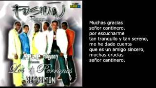 Cantinero - Fusion Perreo. Original (Con letra)